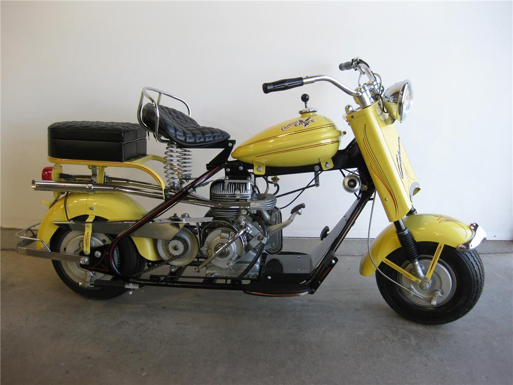 1958 Cushman Eagle Motor Scooter