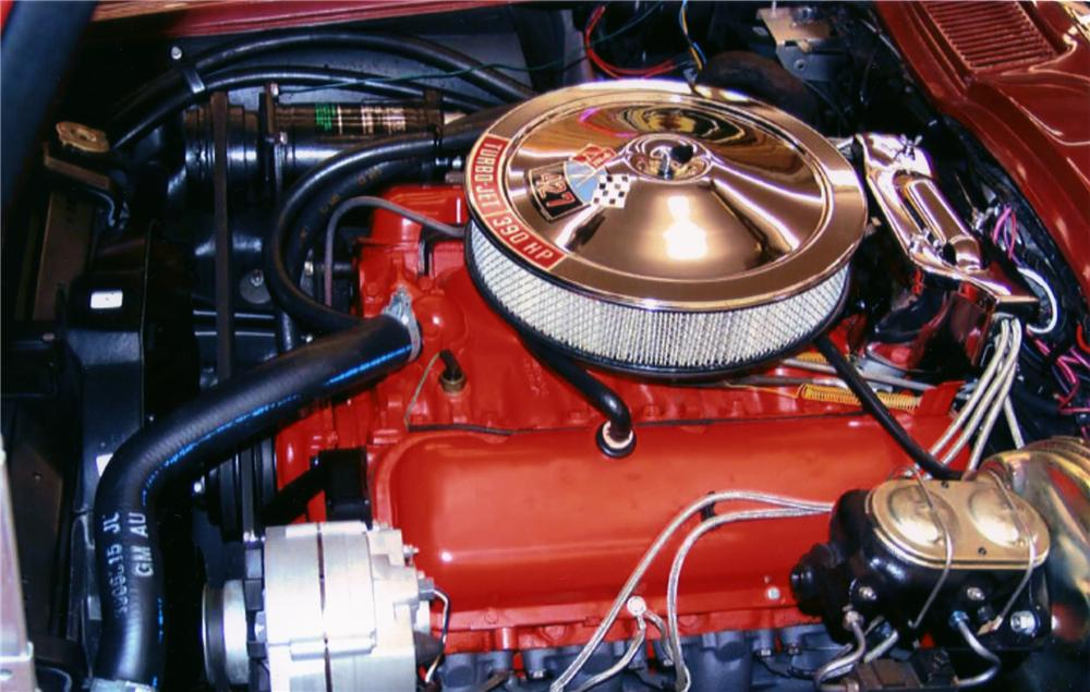1967 CHEVROLET CORVETTE CONVERTIBLE - Engine - 82613