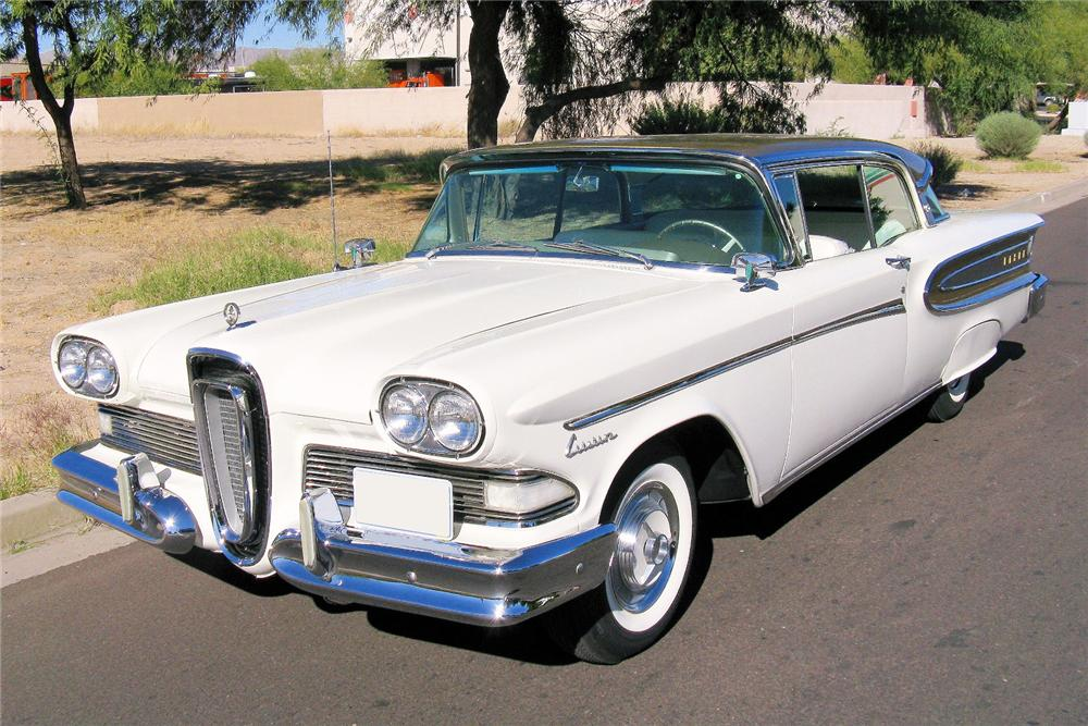 1958 EDSEL CITATION 2 DOOR HARDTOP - Front 3/4 - 82614