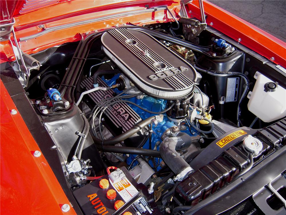 1968 SHELBY GT350 H FASTBACK - Engine - 82619