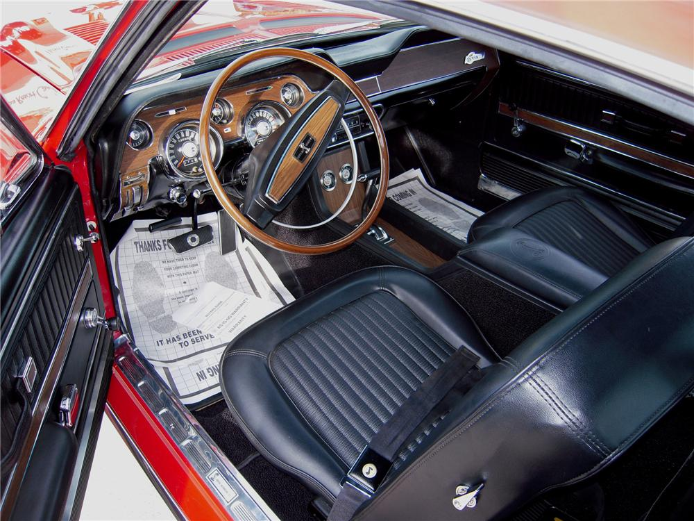 1968 SHELBY GT350 H FASTBACK - Interior - 82619