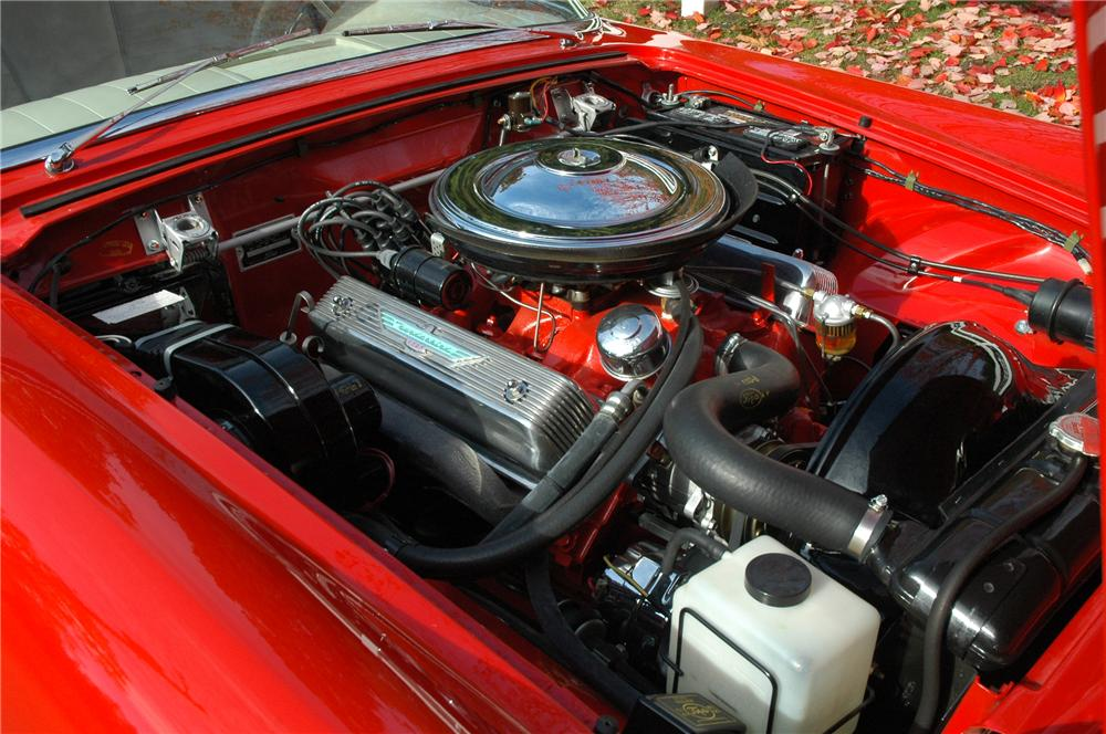 1957 FORD THUNDERBIRD CONVERTIBLE - Engine - 82622