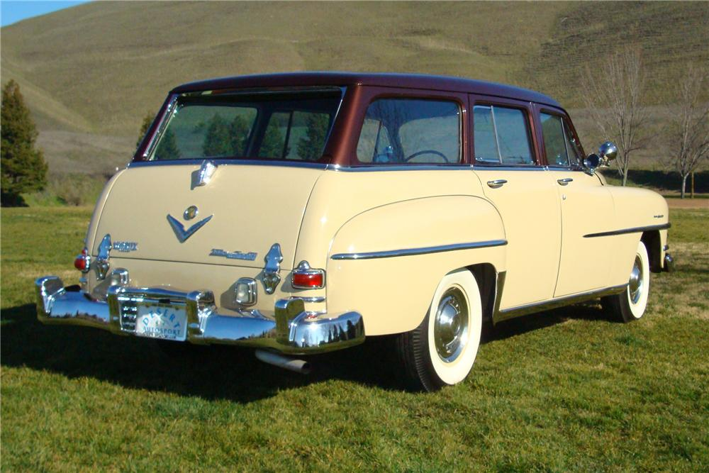 1953 CHRYSLER TOWN & COUNTRY STATION WAGON - Rear 3/4 - 82627