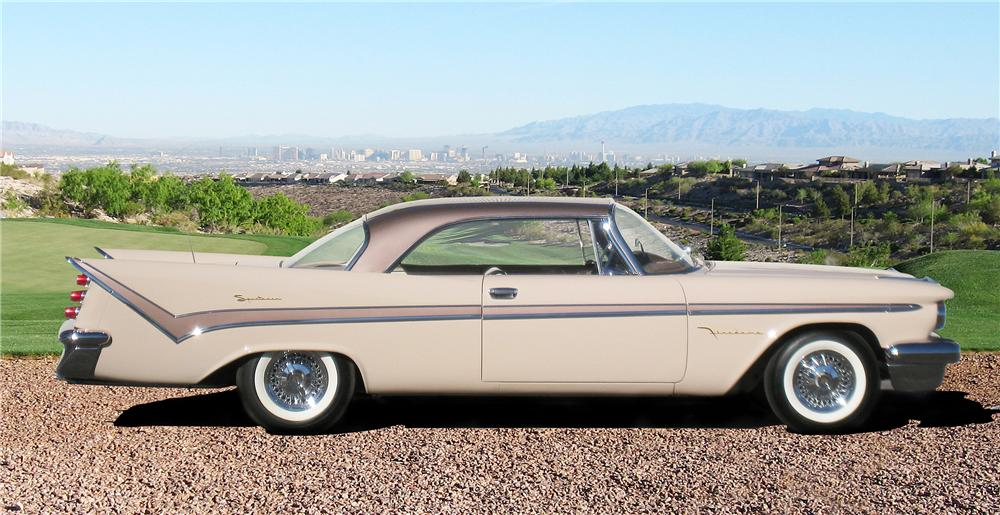 1959 DE SOTO FIREDOME SPORTSMAN 2 DOOR HARDTOP - Side Profile - 82629