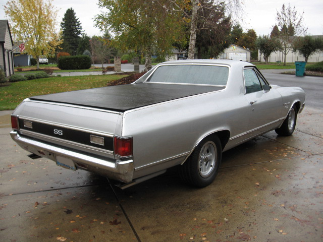 1972 CHEVROLET EL CAMINO PICKUP - Rear 3/4 - 82641