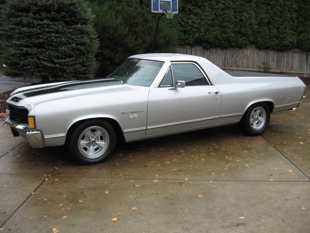 1972 CHEVROLET EL CAMINO PICKUP - Side Profile - 82641