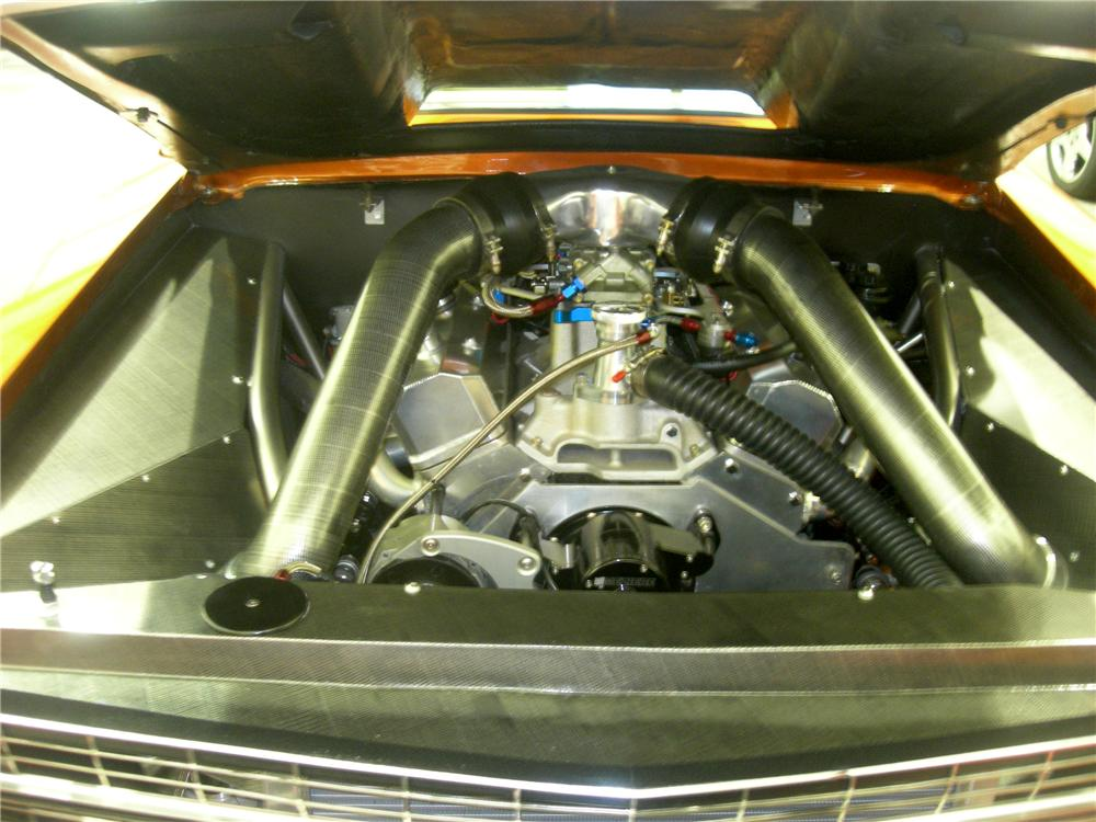 1967 CHEVROLET NOVA CUSTOM 2 DOOR COUPE - Engine - 82642