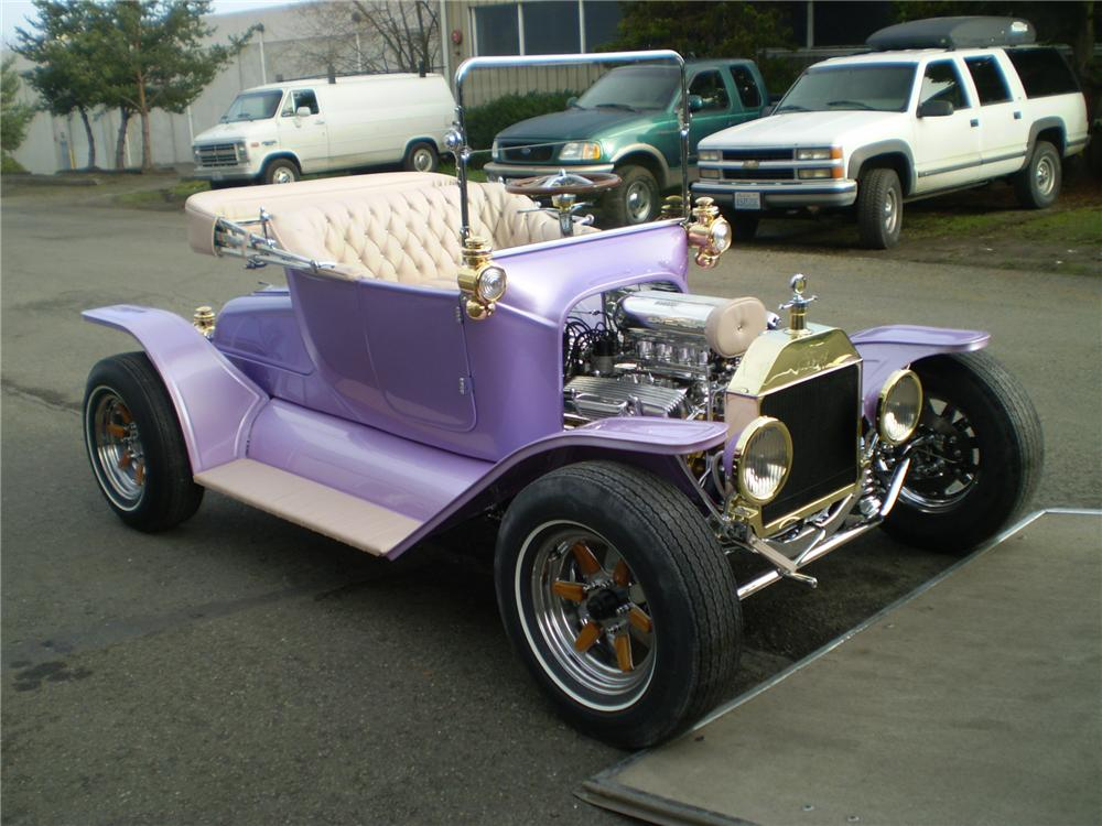 1913 FORD MODEL T CUSTOM ROADSTER - Side Profile - 82643