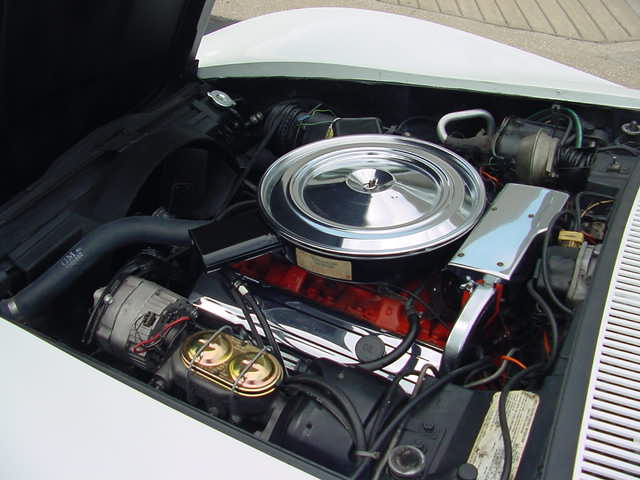 1972 CHEVROLET CORVETTE CONVERTIBLE - Engine - 82646