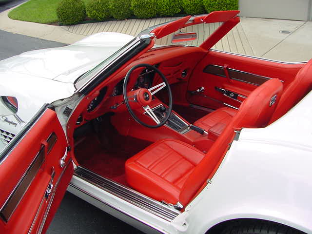 1972 CHEVROLET CORVETTE CONVERTIBLE - Interior - 82646