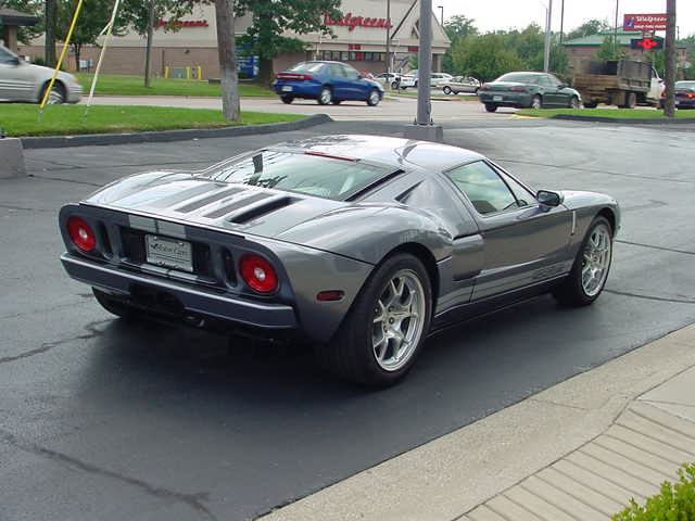 2006 FORD GT COUPE - Rear 3/4 - 82648