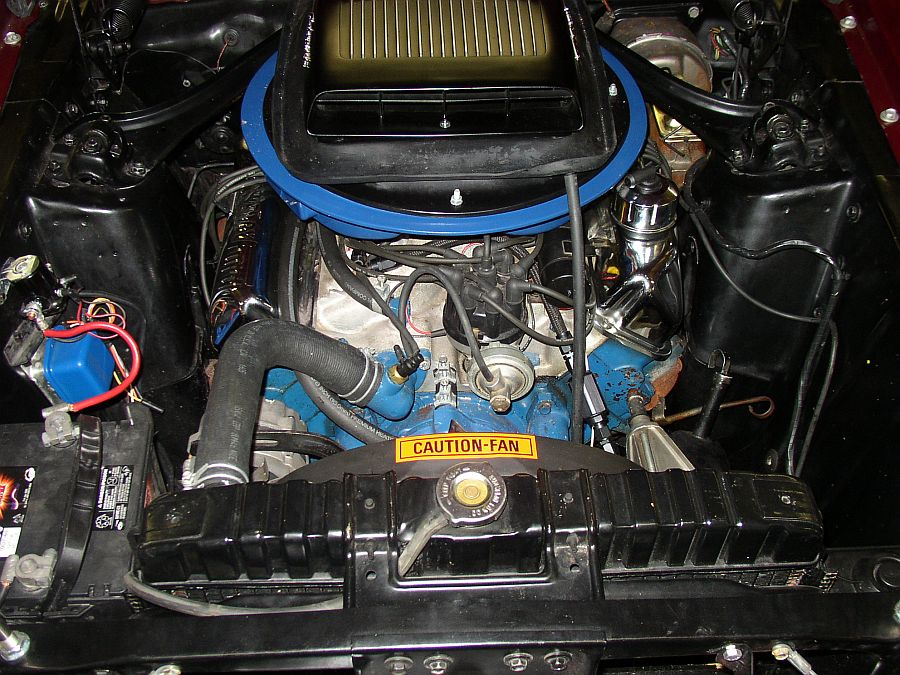 """1969 FORD MUSTANG 428 CJ """"R"""" FASTBACK - Engine - 82649"""
