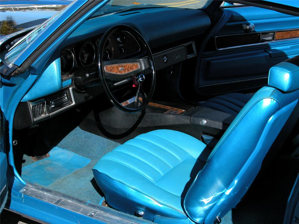 1970 CHEVROLET CAMARO Z/28 COUPE - Interior - 82650