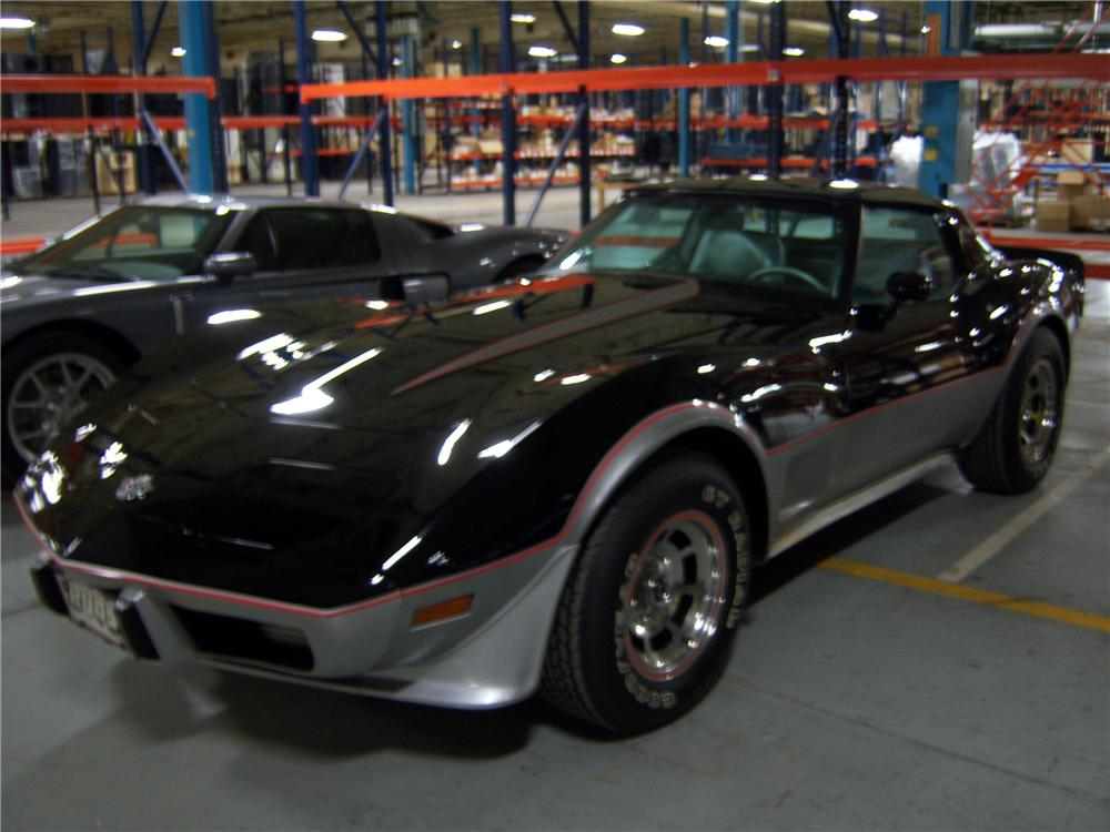 1978 CHEVROLET CORVETTE COUPE - Front 3/4 - 82655