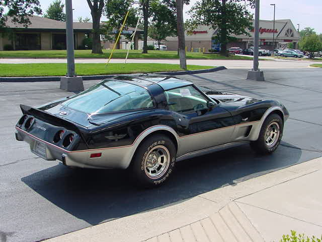 1978 CHEVROLET CORVETTE COUPE - Rear 3/4 - 82655