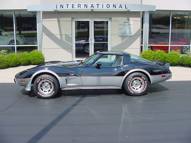1978 CHEVROLET CORVETTE COUPE - Side Profile - 82655