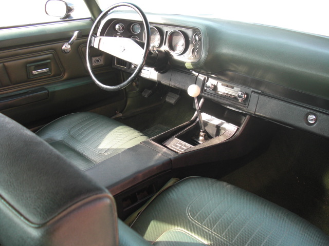 1970 CHEVROLET CAMARO Z/28 COUPE - Interior - 82682