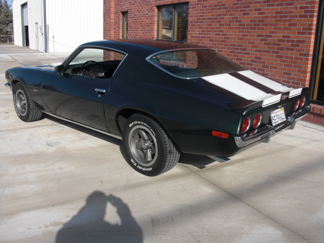1970 CHEVROLET CAMARO Z/28 COUPE - Rear 3/4 - 82682