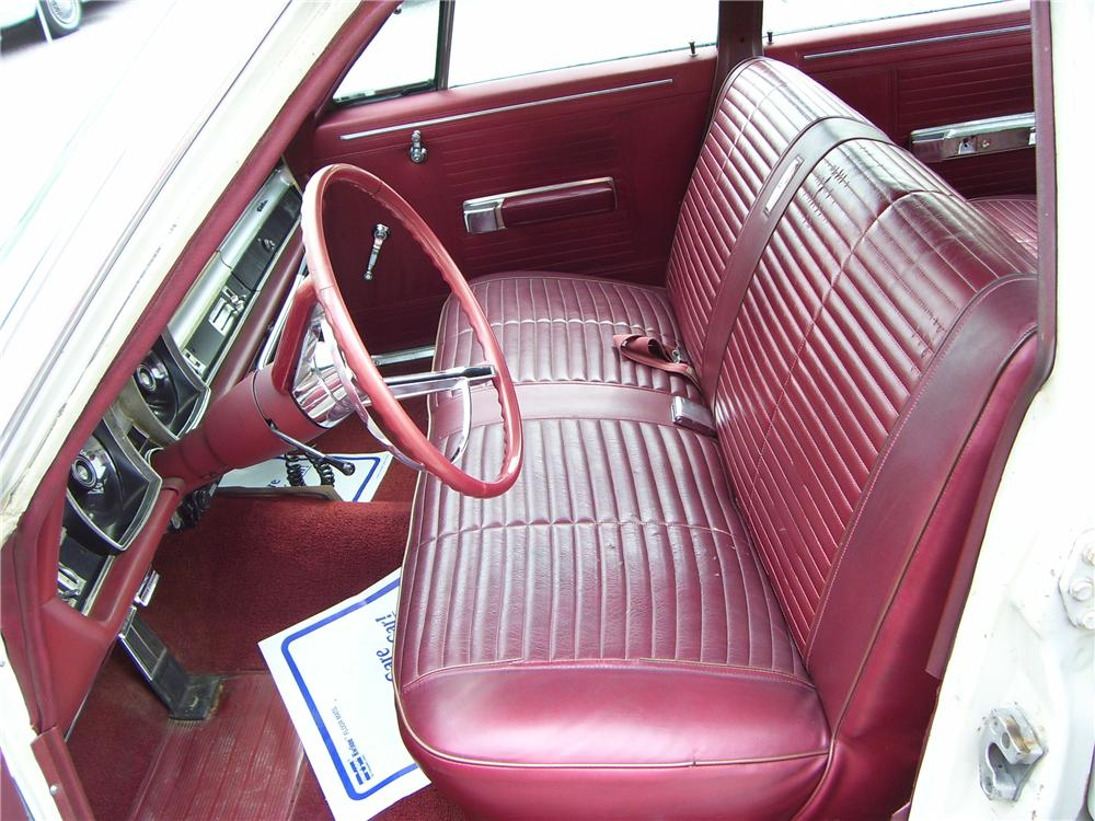 1967 DODGE POLARA SQUAD CAR - Interior - 82732