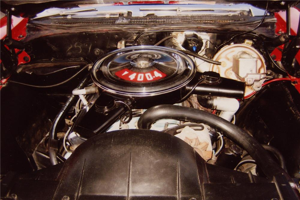 1969 PONTIAC GTO CONVERTIBLE - Engine - 82738
