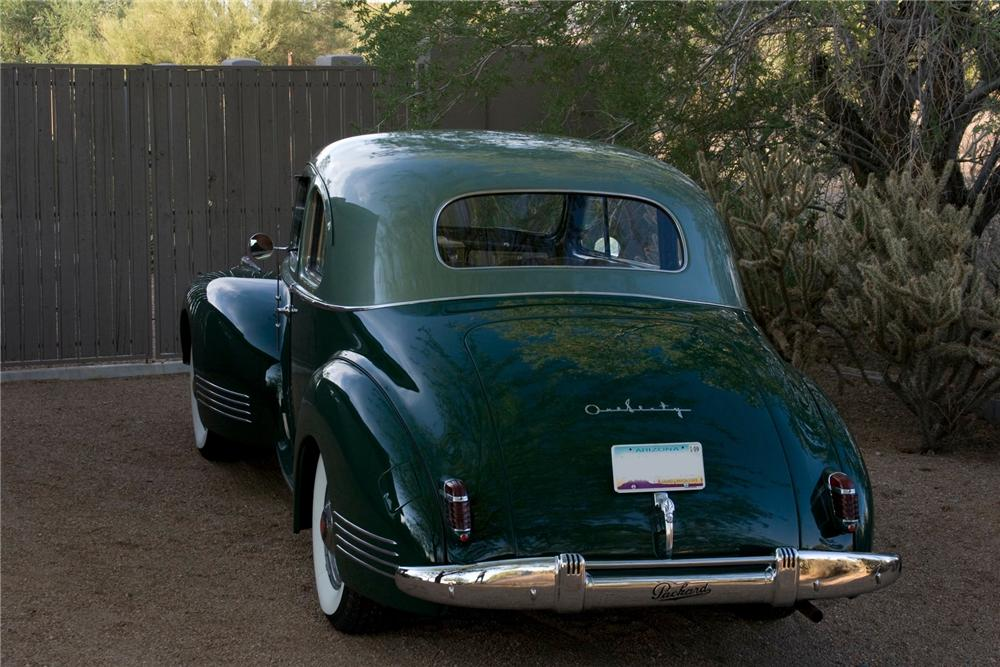 1941 PACKARD 160 COUPE - Rear 3/4 - 82768