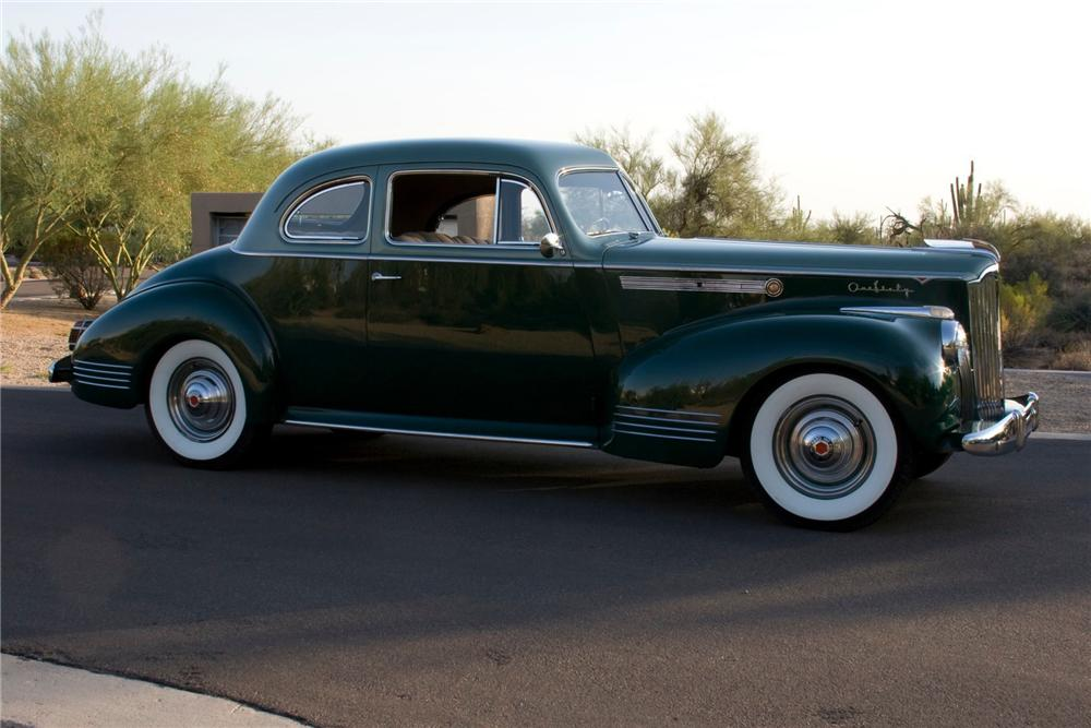 1941 PACKARD 160 COUPE - Side Profile - 82768