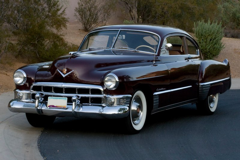 1949 CADILLAC SERIES 62 CLUB COUPE - Front 3/4 - 82775