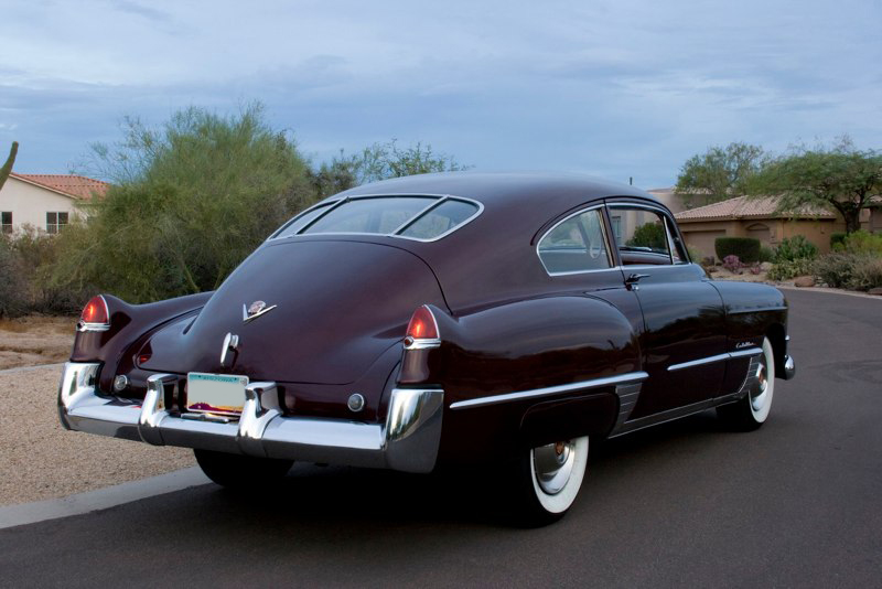 1949 CADILLAC SERIES 62 CLUB COUPE - Rear 3/4 - 82775
