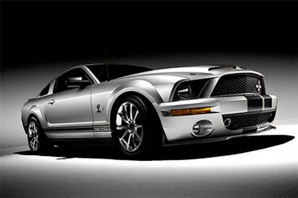 2008 FORD SHELBY GT500 KR COUPE - Front 3/4 - 82794