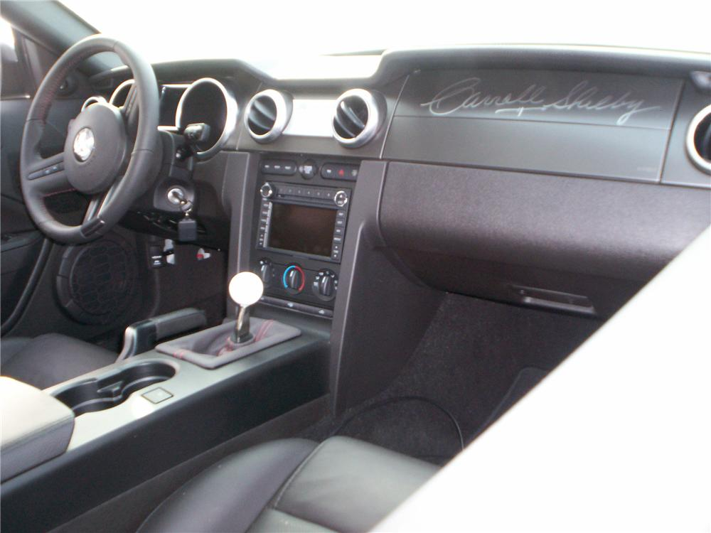 2008 FORD SHELBY GT500 KR COUPE - Interior - 82794