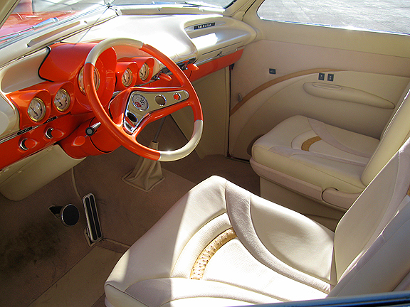 """1949 FORD CUSTOM COUPE """"LUCILLE"""" - Interior - 82800"""