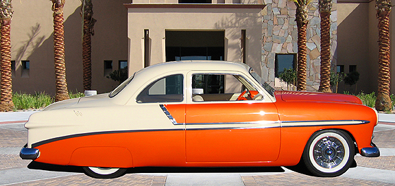 """1949 FORD CUSTOM COUPE """"LUCILLE"""" - Side Profile - 82800"""