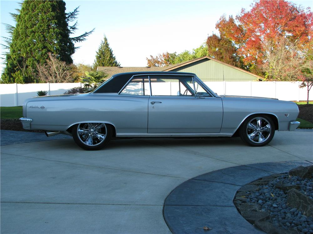 1965 CHEVROLET CHEVELLE SS CUSTOM 2 DOOR HARDTOP - Side Profile - 82819
