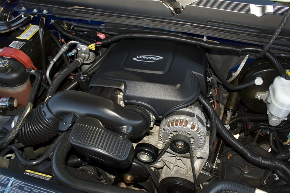 2007 CHEVROLET SILVERADO CUSTOM PICKUP - Engine - 82831