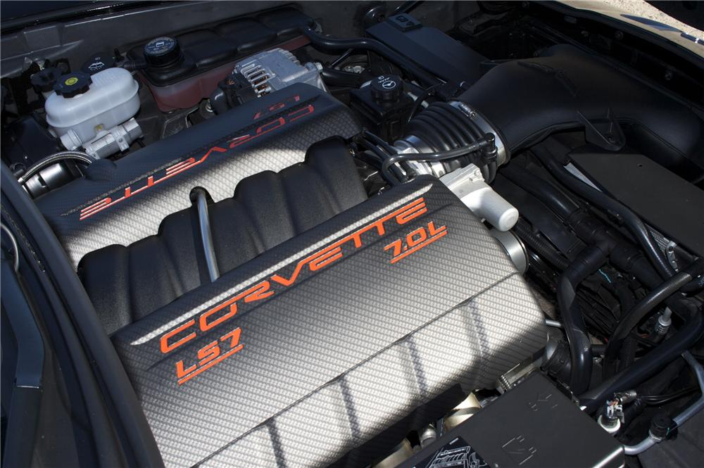 2009 CHEVROLET CORVETTE COUPE Z06 SPECIAL EDITION - Engine - 82834