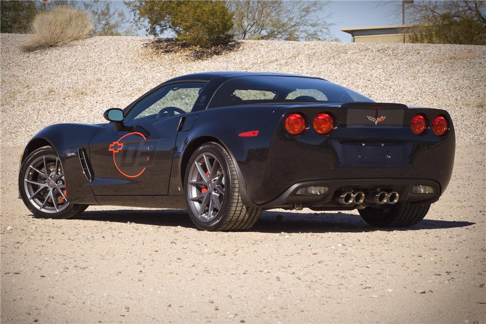 2009 CHEVROLET CORVETTE COUPE Z06 SPECIAL EDITION - Rear 3/4 - 82834