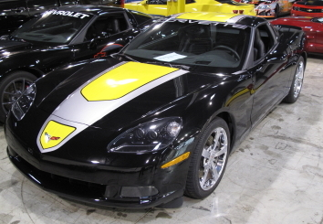 2009 CHEVROLET CORVETTE COUPE SPECIAL EDITION - Front 3/4 - 82835