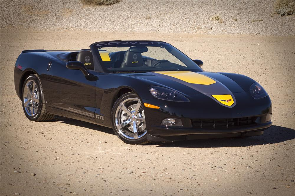 2009 CHEVROLET CORVETTE CONVERTIBLE SPECIAL EDITION - Front 3/4 - 82836