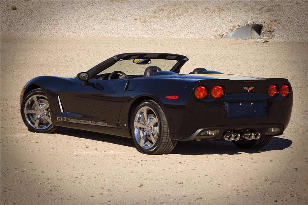 2009 CHEVROLET CORVETTE CONVERTIBLE SPECIAL EDITION - Rear 3/4 - 82836
