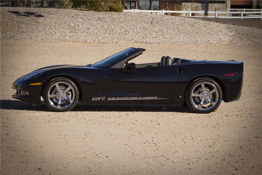2009 CHEVROLET CORVETTE CONVERTIBLE SPECIAL EDITION - Side Profile - 82836