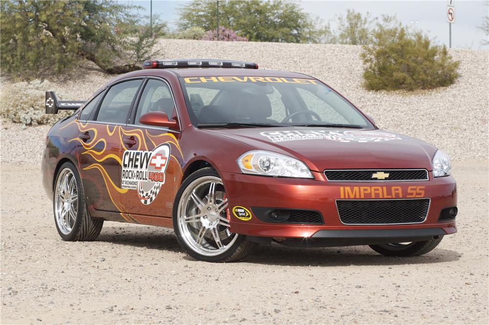 2007 CHEVROLET IMPALA SS ROCK AND ROLL PACE CAR - Front 3/4 - 82842