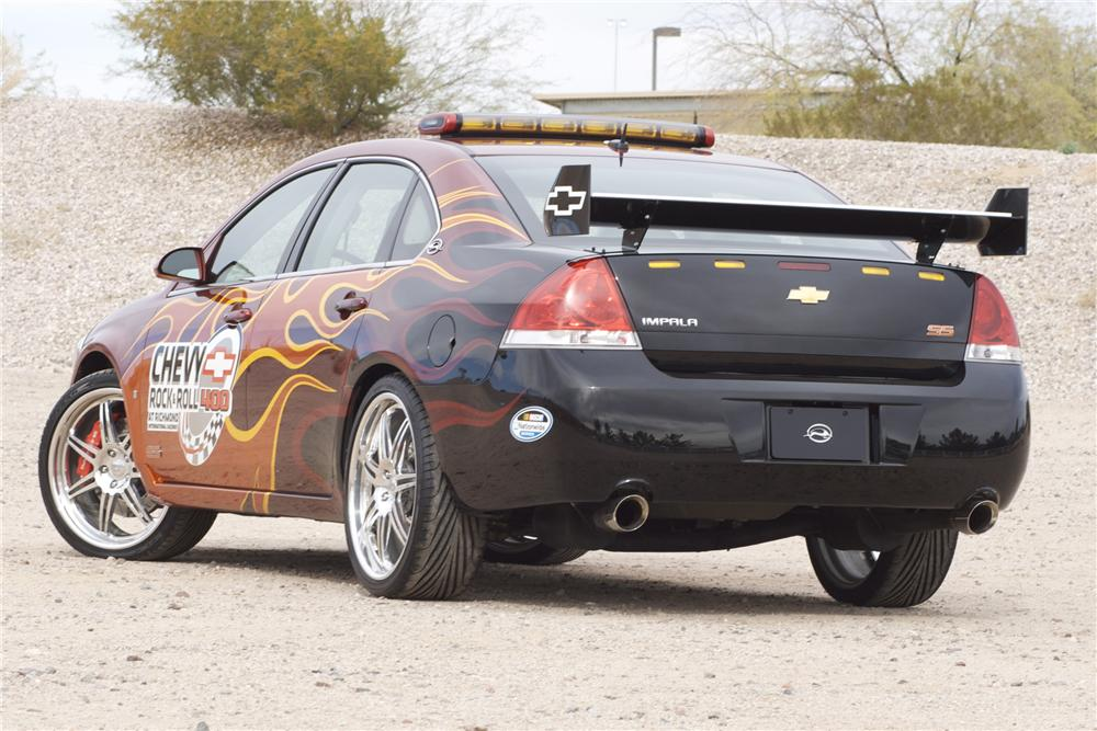 2007 CHEVROLET IMPALA SS ROCK AND ROLL PACE CAR - Rear 3/4 - 82842