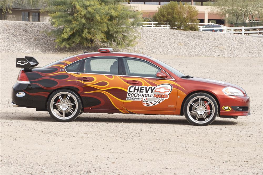 2007 CHEVROLET IMPALA SS ROCK AND ROLL PACE CAR - Side Profile - 82842