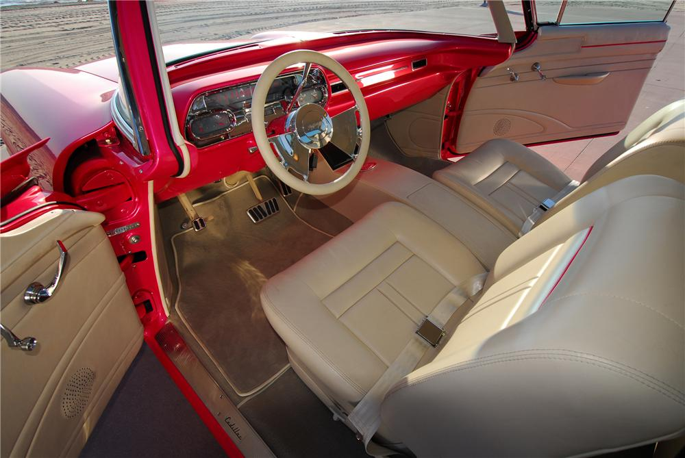 1957 CADILLAC SERIES 62 CUSTOM 2 DOOR HARDTOP - Interior - 83214