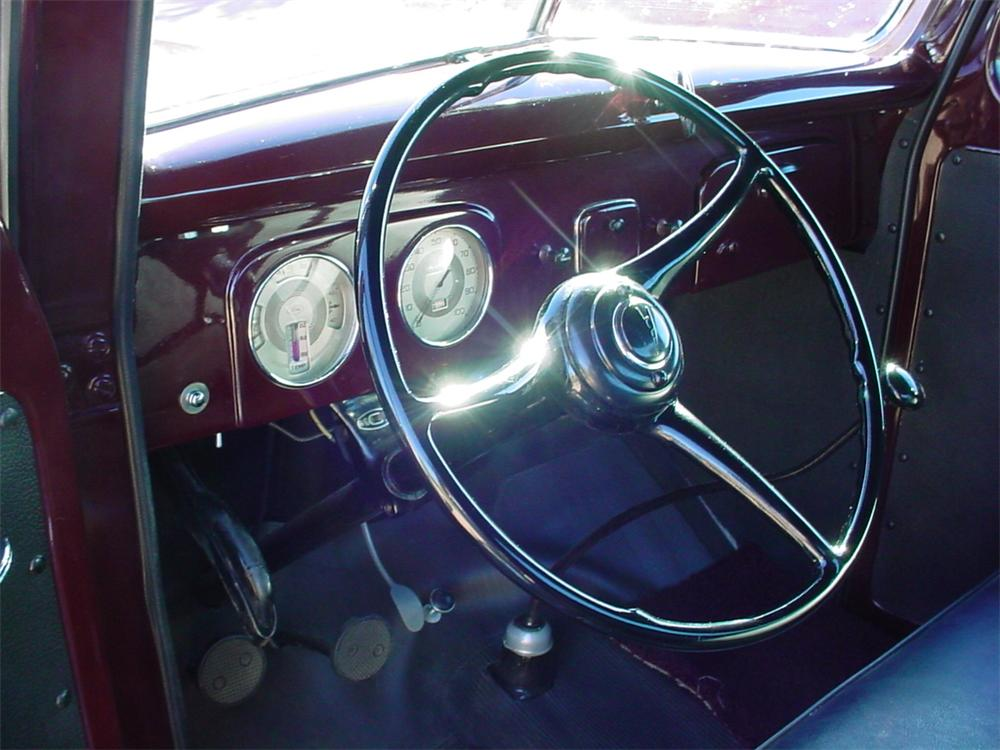 1938 FORD CUSTOM PICKUP - Interior - 84173