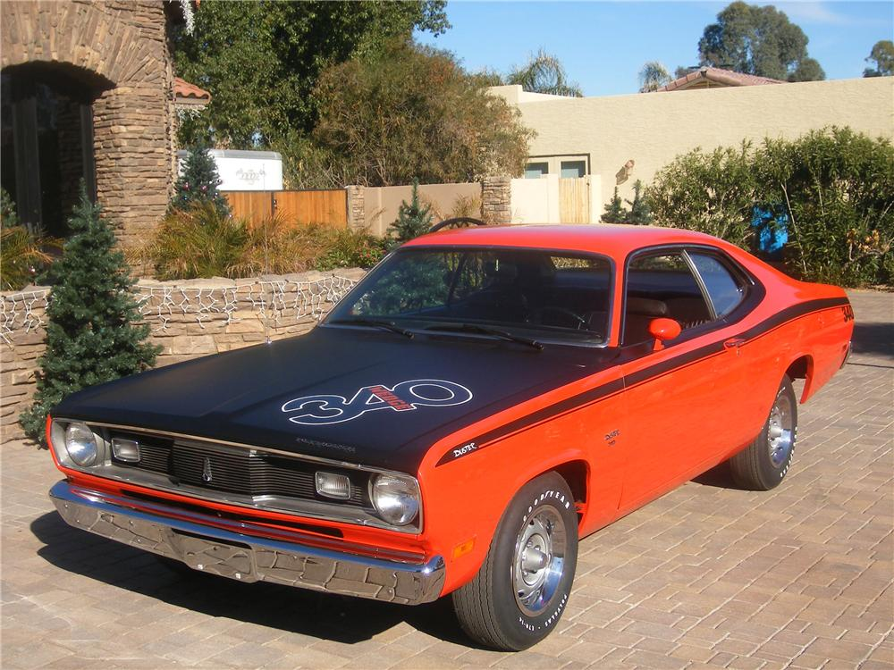 1970 Plymouth Duster 340 - Plymouth &amp- Cars Background Wallpapers ...