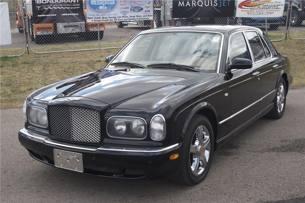 2001 BENTLEY ARNAGE 4 DOOR - Front 3/4 - 87702