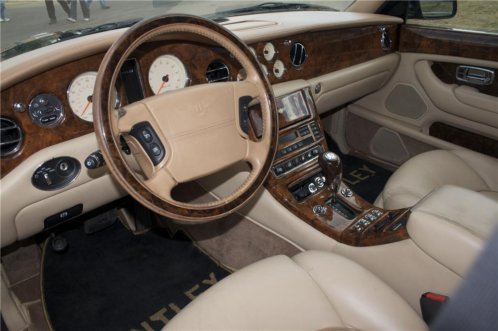 2001 BENTLEY ARNAGE 4 DOOR - Interior - 87702