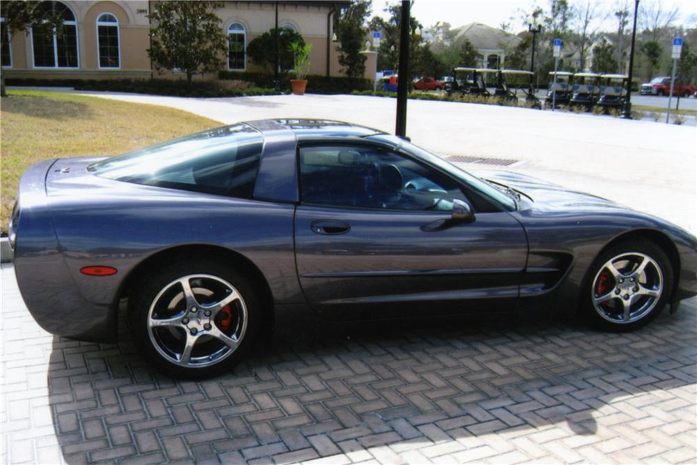 1998 CHEVROLET CORVETTE COUPE - Side Profile - 88825