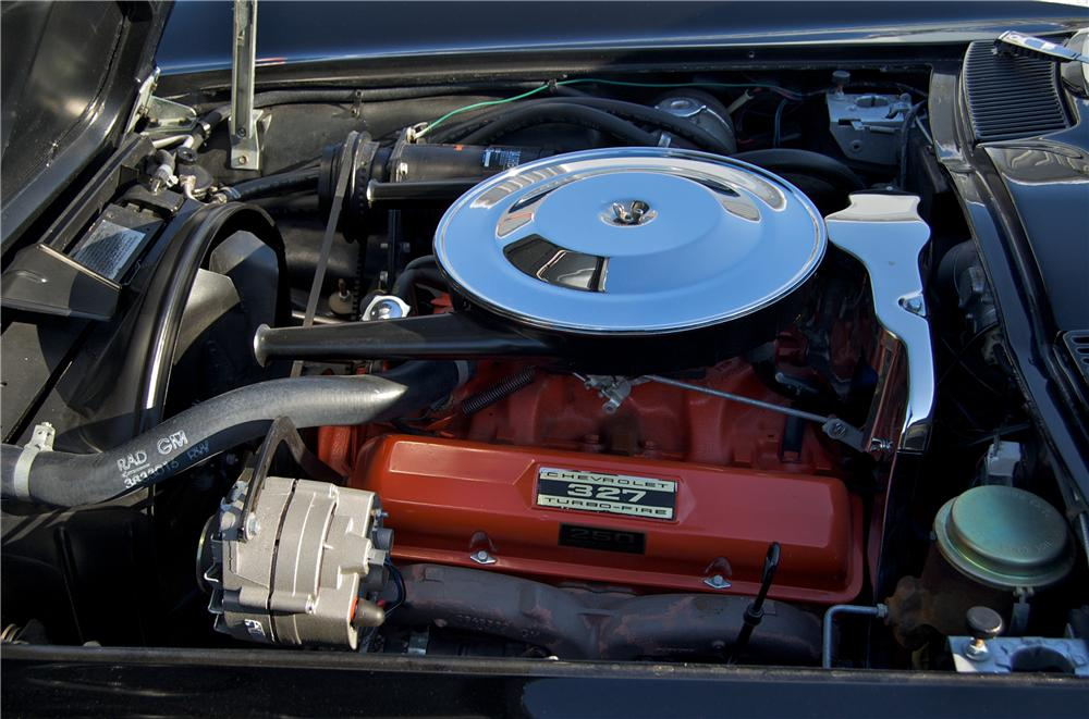 1965 CHEVROLET CORVETTE CONVERTIBLE - Engine - 88829